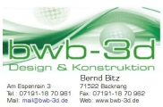 Logo BWB 3D Design & Konstruktion