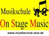 Logo Musikschule On Stage Music