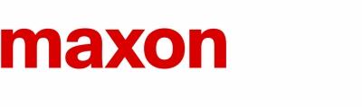 Logo maxon motor GmbH