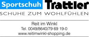 Logo Sportschuh Trattler