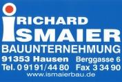Logo Ismaier Richard GmbH & Co. Bauunternehmung KG