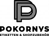 Logo Pokorny Etiketten und Shopzubehör