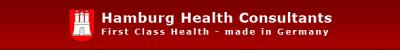 Logo Hamburg Health Consultants - First Class Medicine, Health Travel and Training-Made in Germany