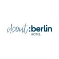 Logo about:berlin Hotel