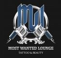 Logo Most Wanted Tattoo & Beauty Lounge