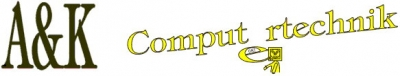 Logo A&K Computertechnik, Computer, EDV. IT