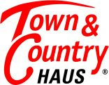 Logo Town & Country Haus, Lizenzpartner Angelika Wagner