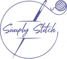 Logo Simply Stitch-Wolle, Stoffe & Design