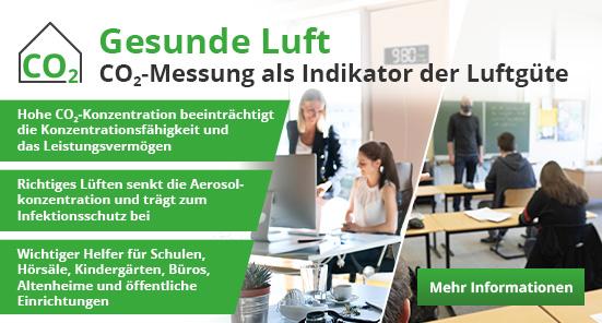 Gesunde Luft – CO<sub>2</sub>-Messung als Indikator der Luftgüte